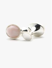 Pink Opal Oval Cut Stone