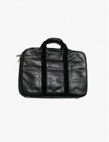 Laptop Carrier/Italian leather/lamb