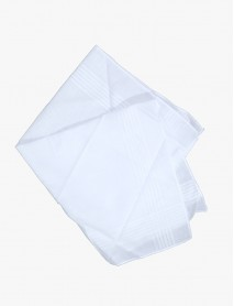 6 Handkerchiefs -100% Cotton 17 x 17