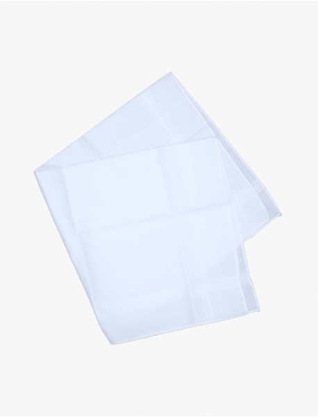 Bakers Dozen: WHITE 100% Cotton